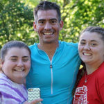 Coach Chad Duffy with Daughters